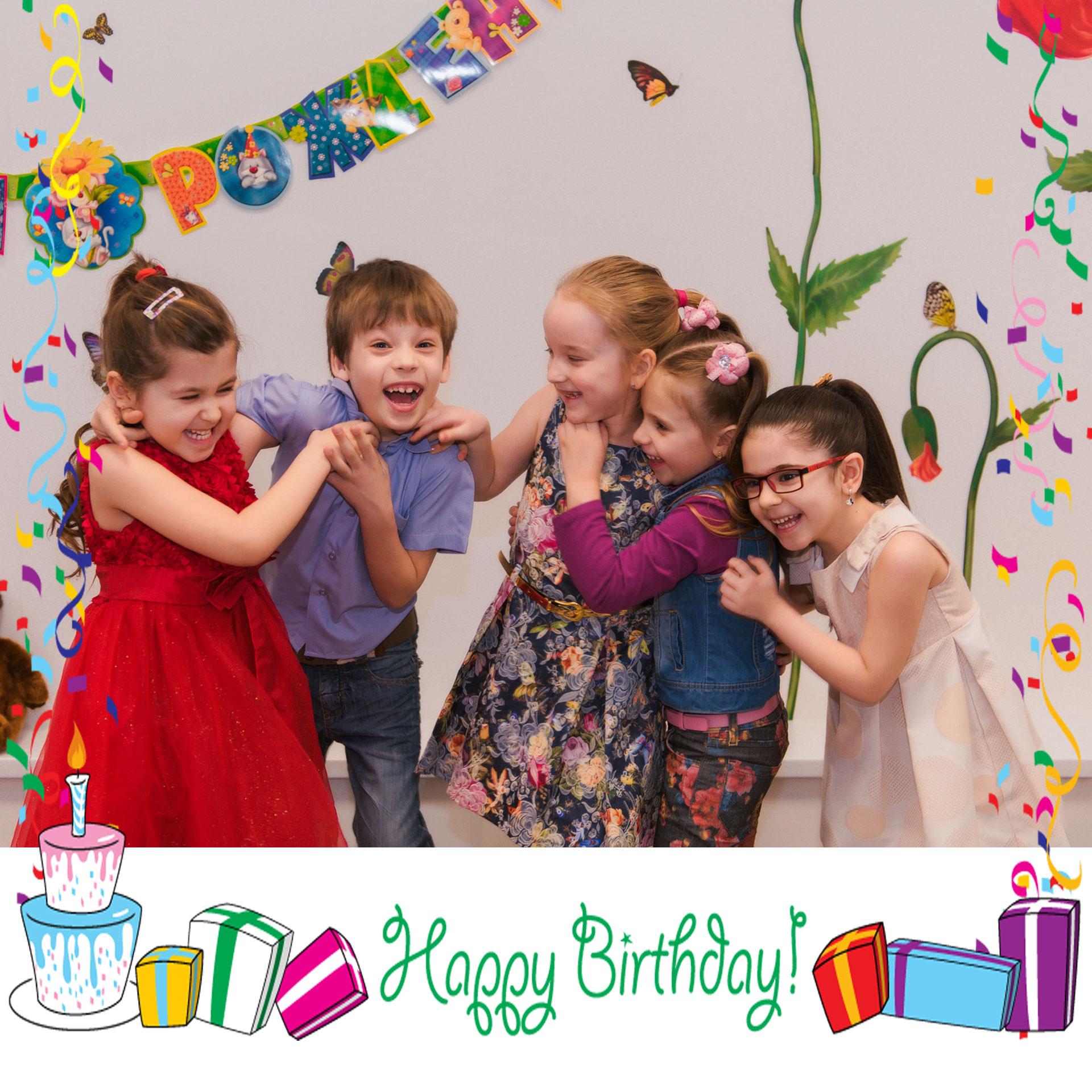 Детский день рождения в матрешкино